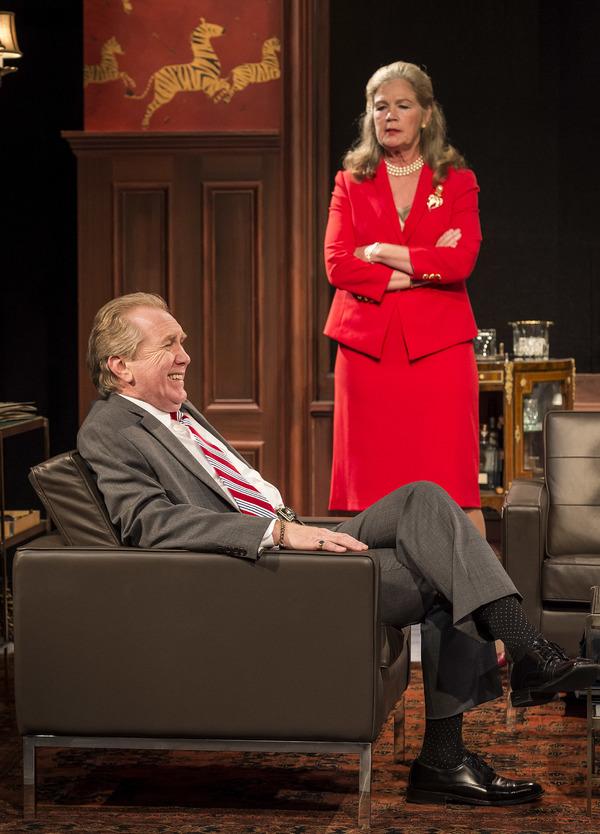 Harry Groener and Linda Gehringer