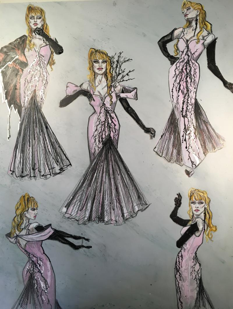Sneak Peek of Ann Hould-Ward's New Costume Designs for Reimagined INTO THE WOODS