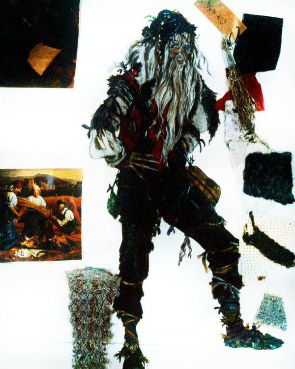 Mysterious Man by Costume Designer Ann Hould-Ward for Original Broadway Production of INTO THE WOODS