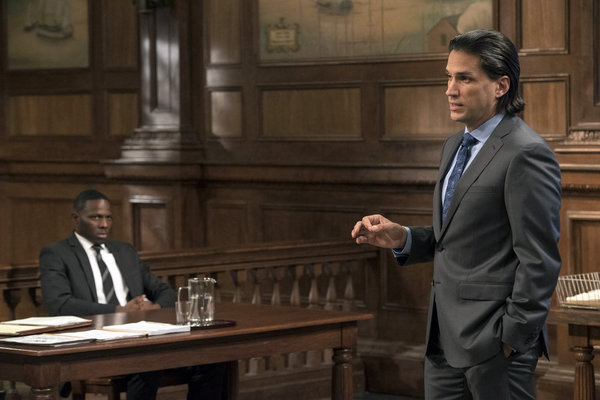 Photo Flash: First Look - Broadway's Will Swenson, Okieriete Onaodowan Guest on NBC's LAW & ORDER: SVU