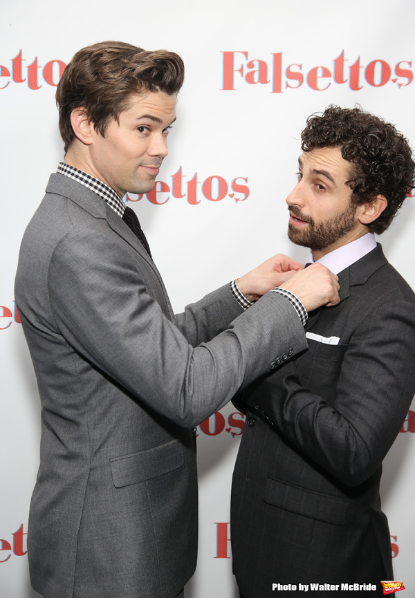 Andrew Rannells and Brandon Uranowitz