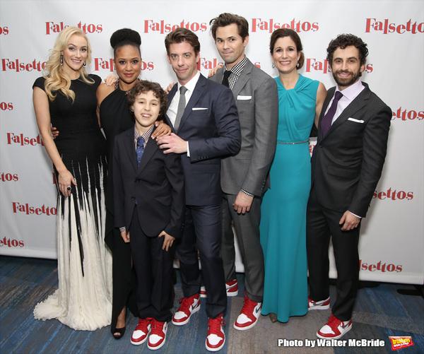 Photo Coverage: The Tight Knit Family of FALSETTOS Celebrates Opening Night!