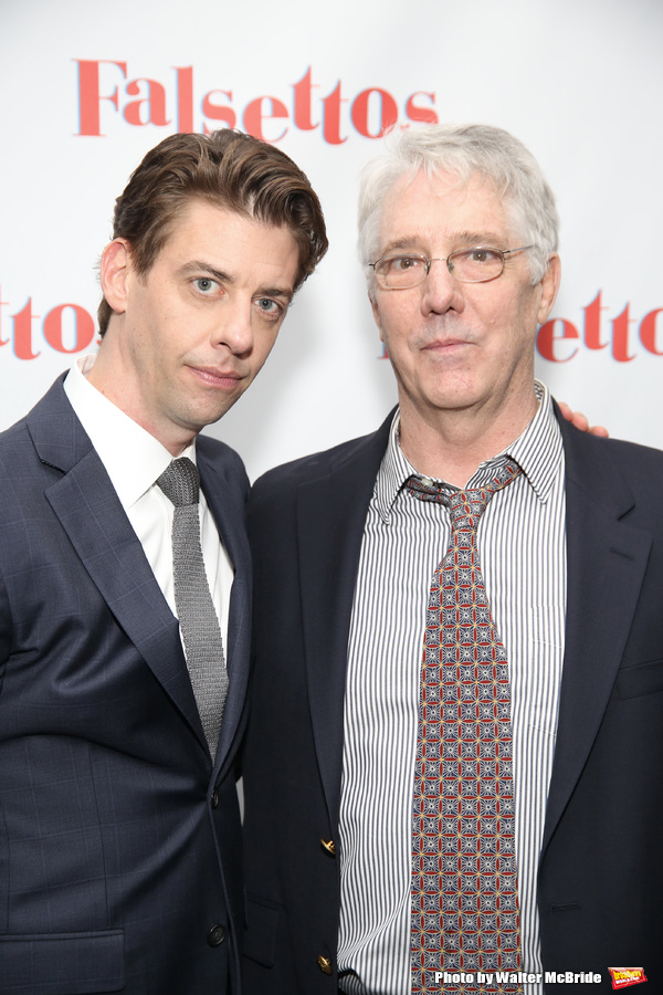 Christian Borle and Michael Rupert