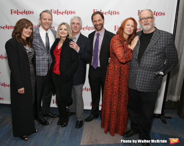 Janet Metz, Stephen Bogardus, Alison Fraser, Michael Rupert, Jonathan Kaplan, Carolee Carmello and William Finn