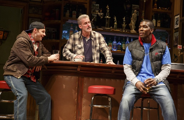 Will Pullen, James Colby, and Khris Davis. Photo Credit: Joan Marcus