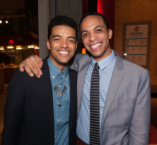 Julian Ramos and Thaddeus McCants Photo