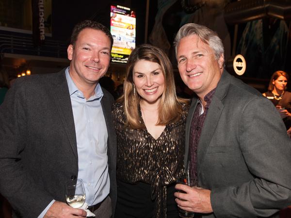 Patrick Hurston, Heidi Blickenstaff and Eric Schaeffer