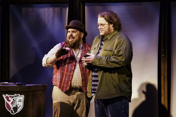 Jason Moore and Rik Robertson