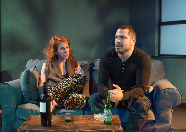 Photo Flash: First Look at THE MOTHERF**KER WITH THE HAT at T. Schreiber Theatre