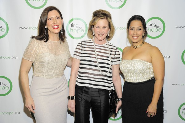Photo Flash: Tituss Burgess, Renee Fleming and More Arrive at 2016 Sing for Hope Gala