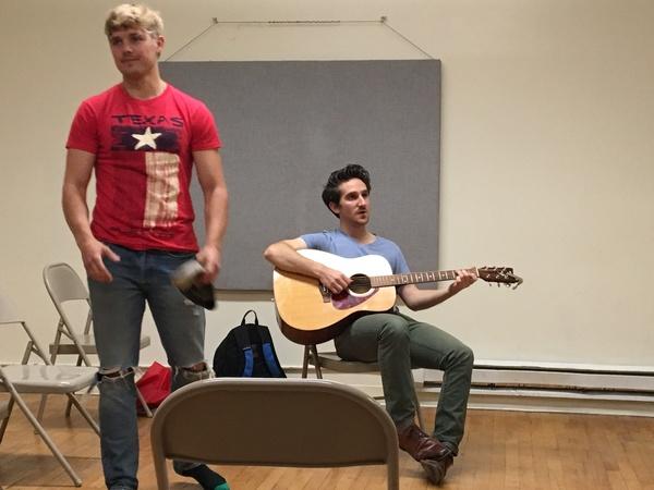 Josh Trant and Peter Ferraiolo Photo