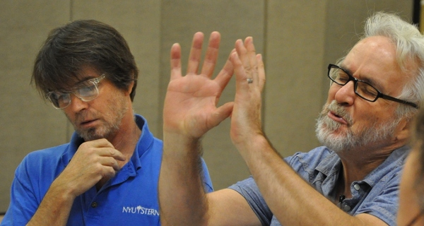 Richard Grunn and Jonathan Ellers Photo