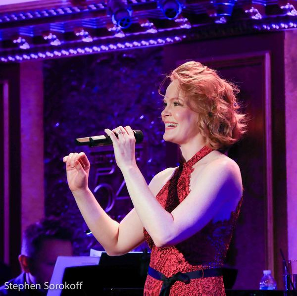 Photo Coverage: Kate Baldwin Concludes EXTRAORDINARY MACHINE at Feinstein's/54 Below