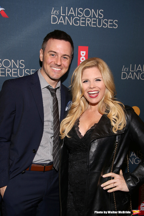 Brian Gallagher and Megan Hilty