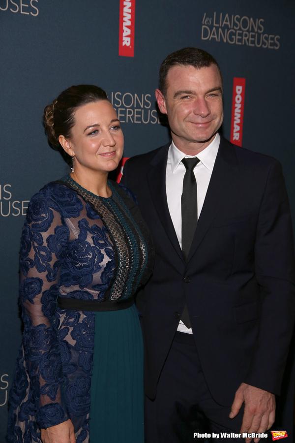 Josie Rourke and Liev Schreiber