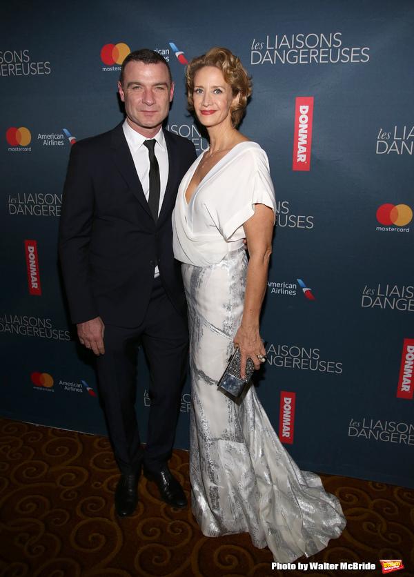 Liev Schreiber and Janet McTeer
