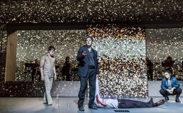 Photo Flash: First Look at the European Premiere of David Bowie and Enda Walsh's LAZARUS!