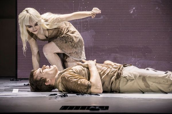 Michael C. Hall, Sophia Anne Caruso