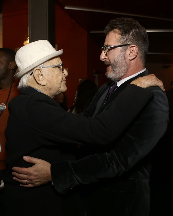 Norman Lear and Jon Robin Baitz