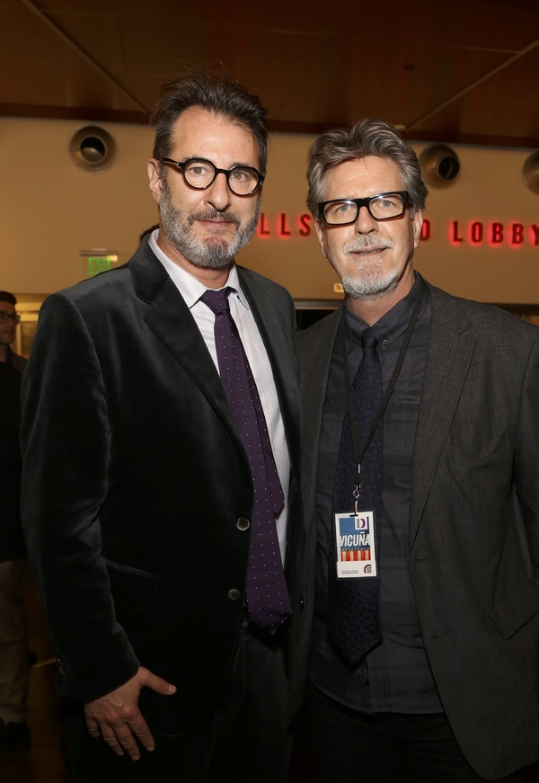 Jon Robin Baitz and  Robert Egan