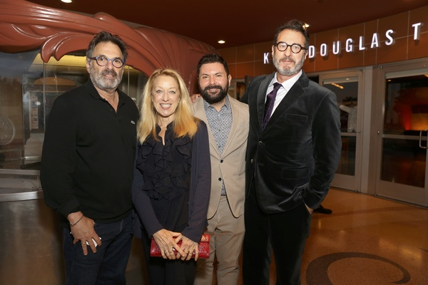 Actors Ken Olin and Patricia Wettig, Leon Avelino and Jon Robin Baitz