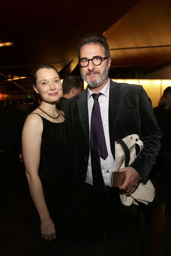 Samantha Sloyan and Jon Robin Baitz