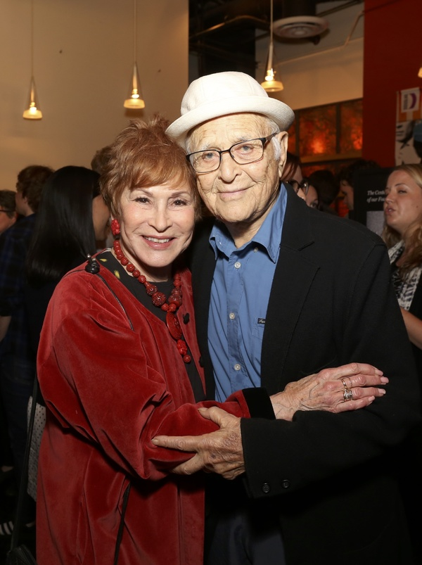 Judi Davidson and Norman Lear