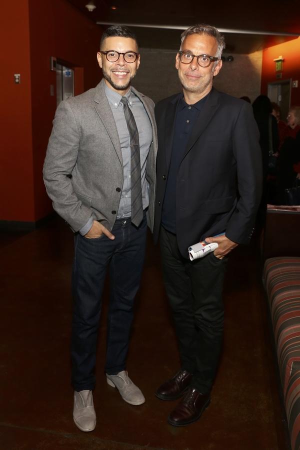 Wilson Cruz and  Joe Mantello