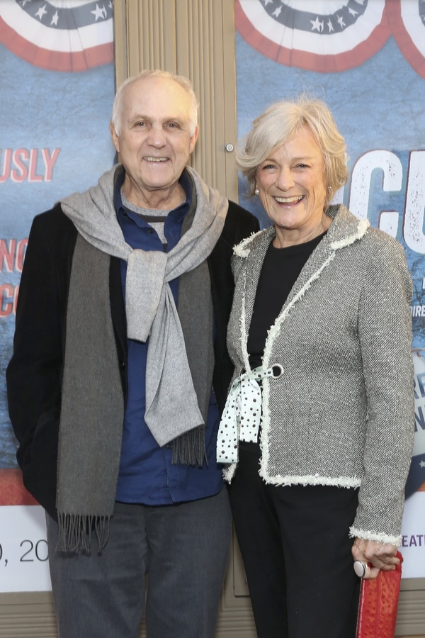 Actors Lawrence Pressman and Anne Gee Byrd