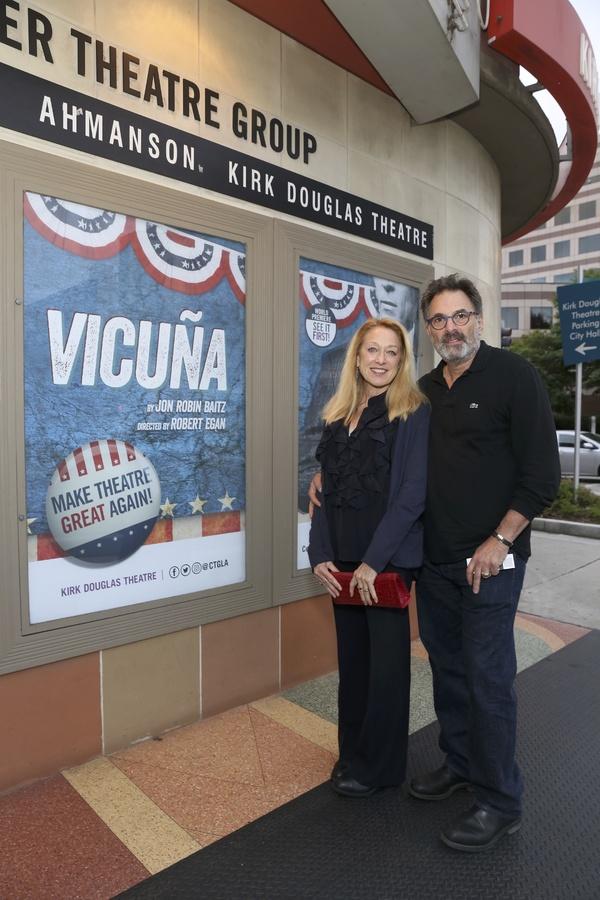 Actors Patricia Wettig and Ken Olin