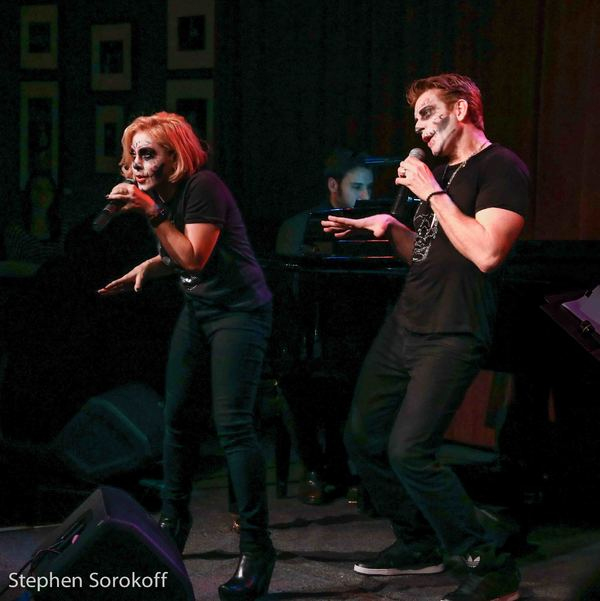 Photo Coverage: Andy Karl & Orfeh Scare Birdland with SONGS FROM THE CRYPT