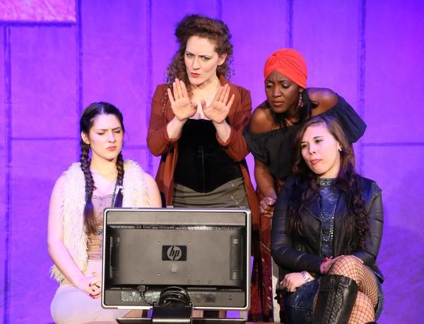 Mary Albert, Nikole Williams, Sarah Kiefer, Heather Michelle Photo