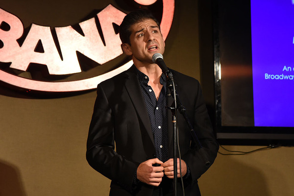 Tony Yazbeck, who performed 'Lucky To Be Me' and 'Both Sides Now'