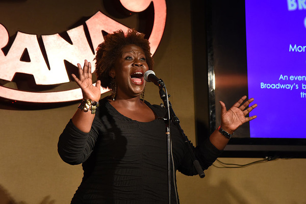 Capathia Jenkins, who performed 'Moondance' and 'I Will Always Love You'