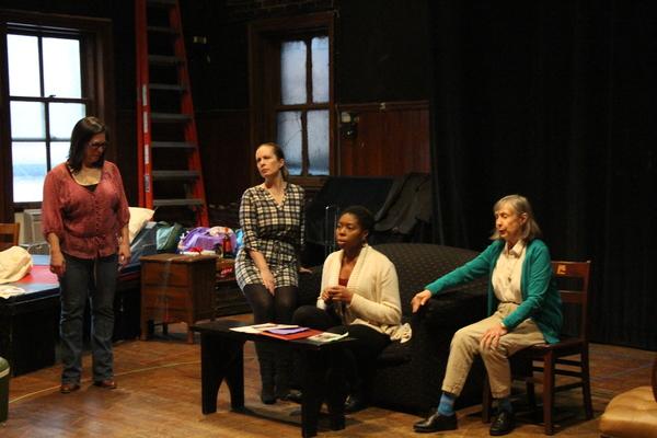 Patricia Randell, Martha Byrne, Whitney Andrews, and Emily Jon Mitchell Photo