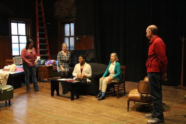 Patricia Randell, Martha Byrne, Whitney Andrews, Emily Jon Mitchell, and Peter Levine Photo