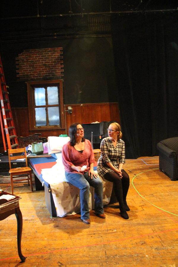 Patricia Randell and Martha Byrne Photo