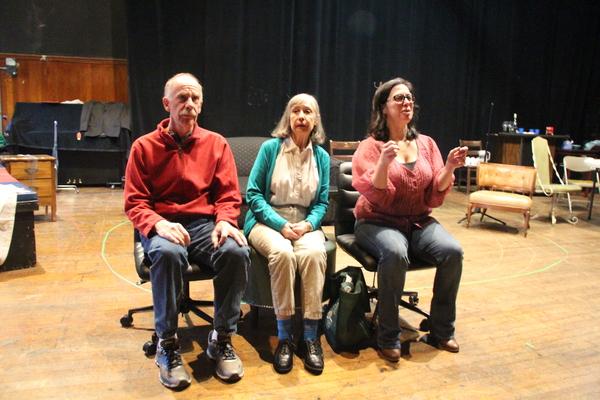 Peter Levine, Emily Jon Mitchell, and Patricia Randell Photo