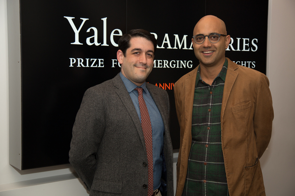 Evan Cabnet and Ayad Akhtar