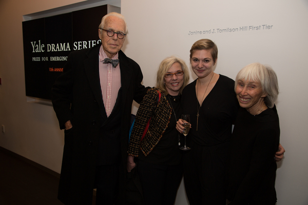 John Guare, Marsha Norman, Emily Schwend and Francine Horn