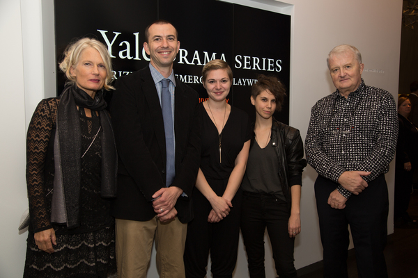 Barbara Seyda, Neil Wechsler, Emily Schwend, Jen Silverman and John Connolly Photo