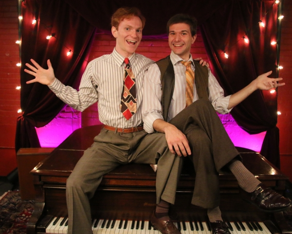 Stage West Presents Kellen Blair and Joe Kinosian's MURDER FOR TWO Photo