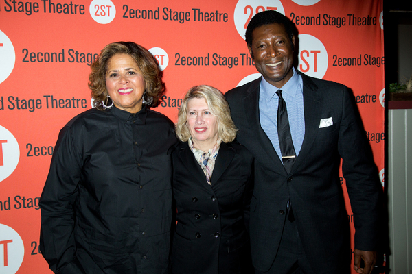 Anna Deavere Smith, Carole Rothman, Marcus Shelby Photo