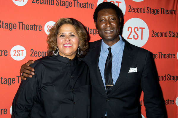 Anna Deavere Smith, Marcus Shelby Photo