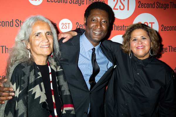 Abby Abinanti, Marcus Shelby, Anna Deavere Smith Photo