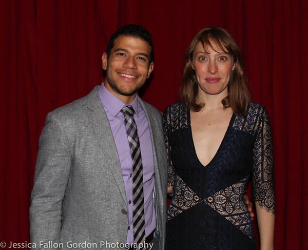 Alex Hernandez and Crystal Finn