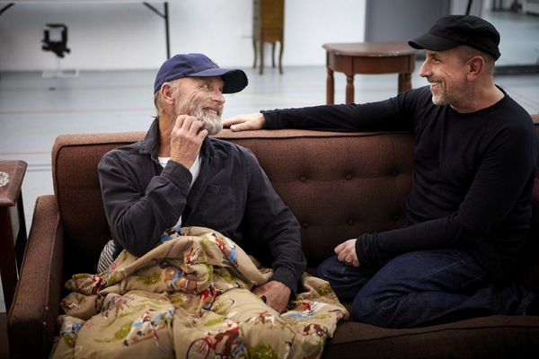 Photo Flash: In Rehearsal with The New Group's BURIED CHILD at Trafalgar Studios