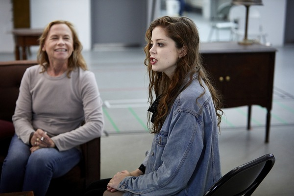 Amy Madigan and Charlotte Hope