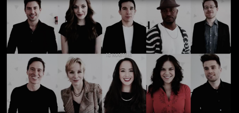 BROADWAY MASTERS Digital Masterclass, Featuring Taye Diggs, Anthony Rapp, Laura Osnes and More, Out Next Week