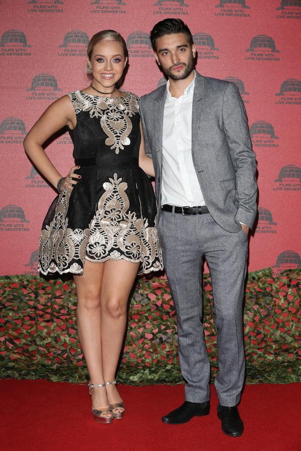 Kelsey Hardwick and Tom Parker